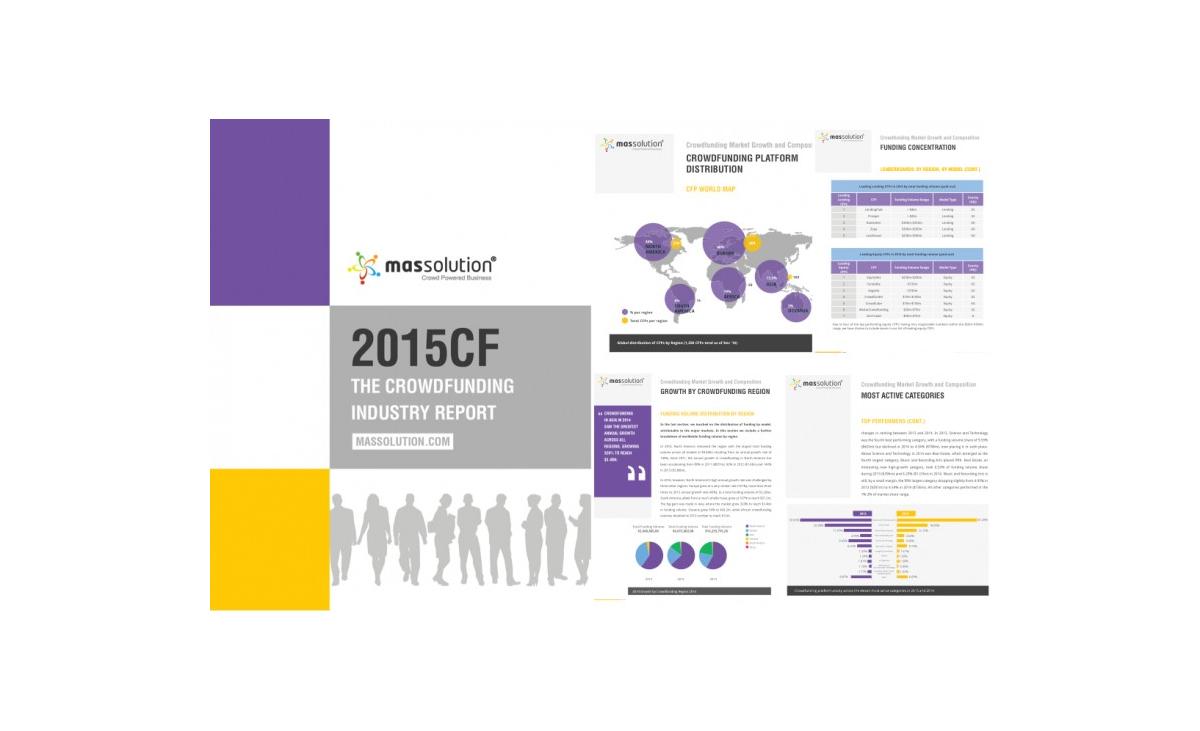 Pubblicato il 2015CF Crowdfunding Industry Report di Massolution!